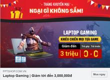 """Cộng đồng game thủ thi nhau """"ném đá"""" quảng cáo lố bịch: God of War trên Laptop Gaming"""