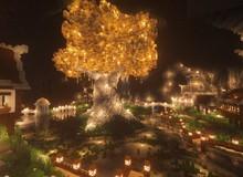 Chiêm ngưỡng toàn bộ quá trình xây dựng hang động ngầm tuyệt đẹp trong Minecraft, long lanh như trốn thần tiên