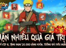 Ninja Làng Lá Mobile chìu fan Naruto hết nấc tặng miễn phí VIP 8, Tướng đỏ mừng ra mắt game hôm nay 4/8