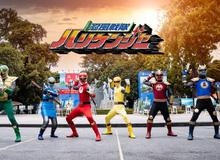 Super Sentai: Ký ức tuổi thơ ùa về với dàn siêu nhân xuất hiện trong lòng Hà Nội