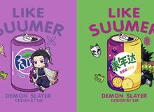 Khi dàn nhân vật Kimetsu no Yaiba trở thành cảm hứng cho thức uống ngày hè, bạn sẽ gọi món nào?