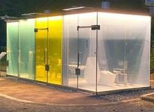 """Cận cảnh nhà vệ sinh công cộng chống """"dê xồm"""" tại Nhật Bản với nhiều chức năng gây bất ngờ"""