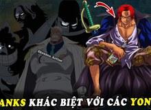 """One Piece: Là """"thương binh"""" duy nhất và 5 điều độc đáo của Shanks so với những người khác là Tứ Hoàng"""