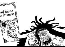 """One Piece: Chứng kiến Kaido bị Cửu Hồng Bao hội đồng, Big Mom hỏi thăm """"Thế Kaido chết chưa?"""""""