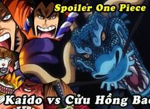 """One Piece: Kaido trong dạng hóa Rồng mạnh như thế nào, một cú """"thở nhẹ"""" thổi bay cả một tòa thành?"""