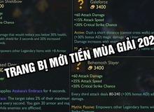 LMHT: Riot Games giới thiệu hàng loạt trang bị mới cực kì bá đạo cho Tiền Mùa Giải 2021