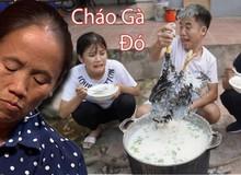 """Bà Tân Vlog lên tiếng về clip nấu cháo gà nguyên lông đang bị chỉ trích của con trai: """"Biết trước thì đã cản con lại rồi"""""""