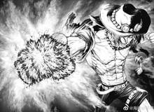 """One Piece: Những trang đầu tiên manga Ace do họa sĩ Boichi vẽ được nhá hàng, Ace cực ngầu còn Bố Già trông """"rất lực"""""""