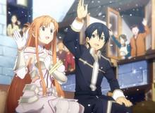 Sword Art Online hé lộ đôi nét về cuộc sống của Kirito và Asuna trong Underworld