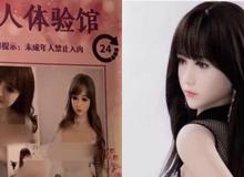 """""""Trải nghiệm người lớn"""" với búp bê tình dục - Tụ điểm """"mại dâm"""" mới của những thanh niên Trung Quốc ế vợ?"""