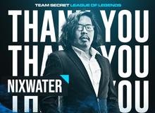 Team Secret chính thức chia tay HLV Nixwater, phải chăng tin đồn xích mích nội bộ là thật?