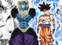 """Dragon Ball Super chapter 64: Goku tự xé áo mình, dùng bản năng vô cực """"bón hành"""" cho Moro"""