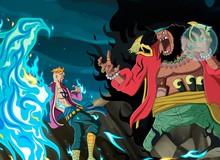 4 trận đánh lớn mà Marco đã tham gia trong One Piece, đối thủ toàn cỡ Vua hải tặc với Tứ Hoàng