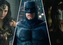 Top 5 bộ đồ siêu anh hùng có thiết kế đẹp nhất trong Vũ trụ Điện ảnh DC
