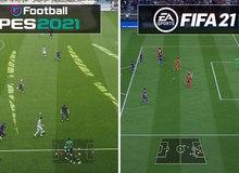 PES 2021 vs FIFA 21, đâu mới là game bóng đá hay nhất 2020?