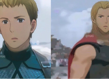 Lạ lẫm khi thấy dàn siêu anh hùng Marvel được vẽ lại theo phong cách anime