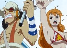 """One Piece 991: Cặp đôi """"có phúc cùng hưởng có họa cùng chạy"""" của băng Mũ Rơm lại lần nữa """"tấu hài"""" cực mạnh"""