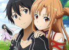 """Top 5 cặp đôi được yêu thích nhất anime mùa hè 2020: """"Thánh hack""""Kirito xuất hiện tới 2 lần"""