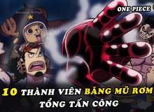 """One Piece: Những lần tập hợp đội hình, sẵn sàng chiến đấu hết sức """"ngầu lòi"""" của băng hải tặc Mũ Rơm"""