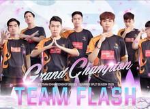 Đánh bại GAM lần thứ 3 liên tiếp, Team Flash bảo vệ thành công ngôi vô địch VCS, thống trị tuyệt đối LMHT Việt Nam