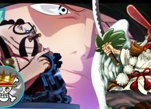 """One Piece 989: Sau nhiều chap """"tấu hài"""", cuối cùng Queen cũng ra tay ngăn cản Luffy"""