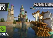 Minecraft trông thế nào với sức mạnh đồ họa siêu tưởng của RTX 30 Series ?