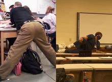 Những dáng đứng bất hủ của giáo viên khi quá nhập tâm vào bài giảng và quên mất cả thế giới đang nhìn mình