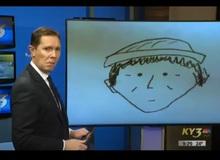 """Nhân chứng phác họa chân dung tên trộm khiến người dẫn bản tin """"đứng hình"""", dân mạng được phen cười vỡ bụng vì quá đỗi """"cute phô mai que"""""""