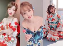 Loạt ảnh các nữ thần 18+ Nhật Bản trong trang phục kimono đầu năm
