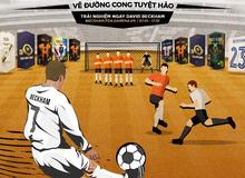 Chính thức: David Beckham ấn định ngày xuất hiện trong FIFA Online 4, game thủ và fan bóng đá phấn khích