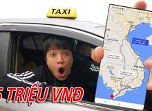 """NTN tuyên bố chán, muốn bỏ nhà ra đi, quyết định đi xuyên Việt hơn 5.000km bằng taxi, chi phí """"siêu to khổng lồ"""""""