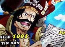 Spoil nhanh One Piece chap 1001: Zoro sử dụng tuyệt kĩ chém lửa của Kin'emon?