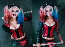 """Ngắm cosplay nàng hề Harley Quinn nóng bỏng đến nỗi fan chỉ biết biết """"tặc lưỡi, chép miệng"""""""