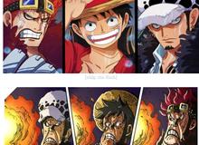 """One Piece: Cười """"không nhặt được mồm"""" với loạt ảnh các nhân vật có khuôn mặt """"tấu hài"""" ở arc Wano"""