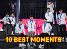 Top 10 khoảnh khắc 'ấn tượng' nhất của LMHT thế giới trong năm 2020