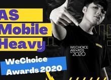 """Chiếm """"spotlight"""" ở 3 hạng mục của WeChoice Awards 2020, thủ lĩnh team Heavy vẫn dành lời """"có cánh"""" cho MisThy"""