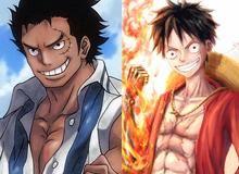 """One Piece: Ngắm loạt ảnh hồi trẻ của Anh Hùng Hải Quân Grap lại thấy có nét """"trẩu"""" giống Luffy"""