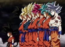 """Từ cậu thiếu niên 16 tuổi khi mới bắt đầu series Dragon Ball, Goku giờ đã là ông nội """"trẻ trâu"""" ngoài 40"""