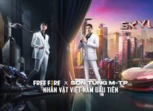 """Free Fire công bố dự án Skyler Sơn Tùng - MTP, đặc biệt có sự xuất hiện của một trong """"tứ hoàng streamer Việt"""""""