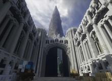 Bỏ 10 năm xây cả thế giới Chúa Nhẫn trong Minecraft, dùng Ray Tracing càng thêm đẹp mê hồn
