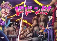 Spoil đầy đủ One Piece chap 1002: Siêu Tân Tinh đồng loạt tấn công Kaido, Tứ Hoàng bị cắt xuyên qua cơ thể