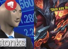 """Cộng đồng LMHT phát hiện Cuồng Thần Sáng Tạo Jhin là skin """"pay to win"""" chính hiệu"""