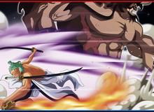 """One Piece chap 1002 : Giải mã bí ẩn trong nhát chém của Zoro khiến Kaido """"xanh mặt"""""""
