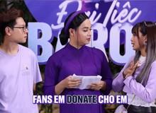 Minh Nghi: Em donate để cua anh Bomman vì kiểu gì tiền đấy cũng về tay em