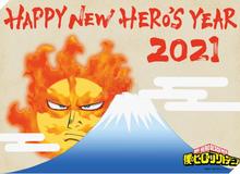 Tết gần hơn bao giờ hết với loạt ảnh Chúc Mừng Năm Mới 2021 từ các siêu phẩm manga Nhật Bản