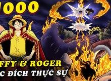 Săm soi One Piece chap 1000: Luffy dùng Haki quan sát né đòn của Kaido