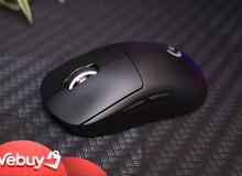 Trên tay Logitech G Pro X Superlight: Chuột chơi game không dây nhẹ nhất thế giới