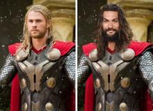 Bất ngờ trước hình ảnh lạ lẫm khi hàng loạt các siêu anh hùng Marvel và DC đổi vai cho nhau