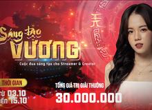 """Kiếm Thế ADNX Mobile gây """"kích thích"""" với hàng loạt sự kiện ngày ra mắt, trao thưởng 30 triệu với cuộc thi Sáng Tạo Vương"""