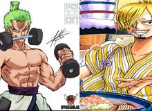 """One Piece: Fan bất bình vì Sanji """"quá được ưu ái"""", Zoro cả đời chăm chỉ tập luyện chỉ có sức mạnh bằng anh đầu bếp"""